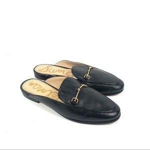 Sam Edelman Black Linnie mules 8M
